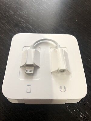 Apple Lightning to 3.5mm Headphone Jack Adapter Genuine OEM Authentic MMX62AM/A