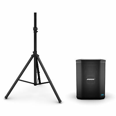 Bose S1 Pro PA System w/ Speaker Stand & Play-Through Cover - Baltic Blue
