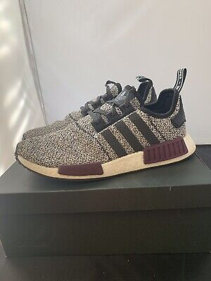 timeless design d4832 7b425 ADIDAS NMD R1 Champs Exclusive Grey Static Wool Burgundy ...