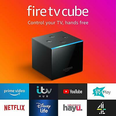 All-new Fire TV Cube | Hands free with Alexa, 4K Ultra HD streaming media playe