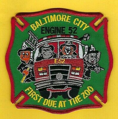 Engine 51 MD Baltimore City Fire Dept Pride /& Tradition old patch
