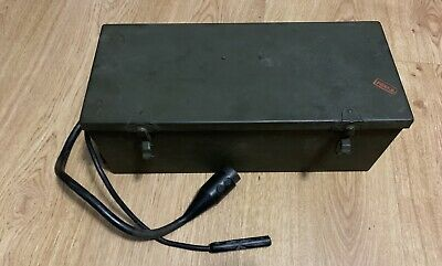 WW2 1944 US Army Signal Corps Mine Detector Amplifier BC-1141-C With Carrier