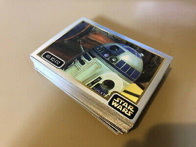 Star Wars - Epsiode 1 - Silver - 59 of 60 Chase Cards NEAR SET - Ikon - NM