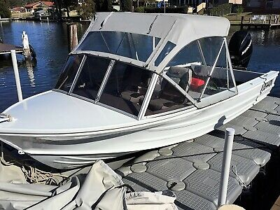 Quintrex 17' With 60Hp Mercury 4 Stroke Excellent Condition