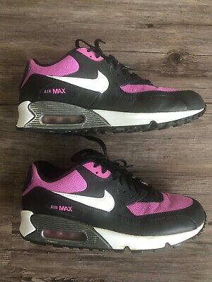 Details about NIKE AIR MAX 90 2007 YOUTH(GS) Size 4Y WHITEORANGEPINKBLACK 345017 113