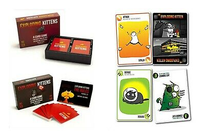Exploding Kittens: NSFW Edition (Explicit Content - ADULTS ONLY! ENGLISH VERSION