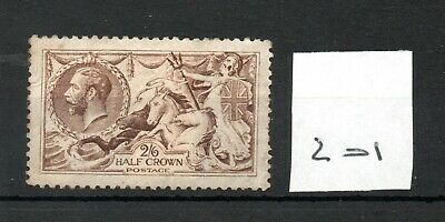 GB - GEORGE V (201) - Seahorses - 2/6d - mint - some gum - see both scans