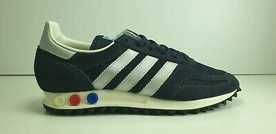 -SCARPE N 40 2/3 uk 7 ADIDAS LA TRAINER SNEAKERS BASSE BB1208