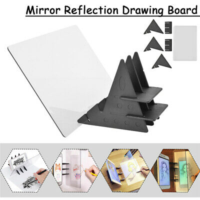 Stencil Tracing Drawing Board Light Sketch Mirror Reflection Dimming Drawing Pad