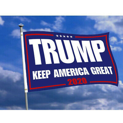 New Donald-Trump 2020 Flag Double Sided Printed Flag Keep America Great 3*5 Foot