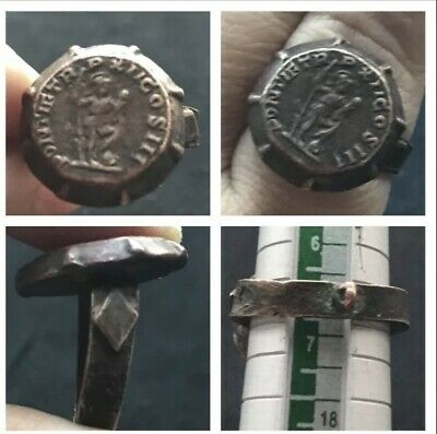 Wonderful Old very Ancient Roman Written bronze Unique Ring