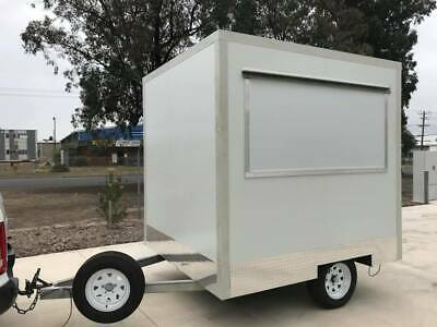 Small Coffee Trailer