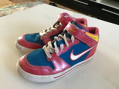 *** Nike Girls High Top Trainers Size Uk 1  Eur 33 **