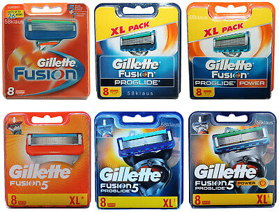 Gillette Fusion5 ProGlide Power Sortiment an Klingen 4 6 8 12 16 24 32 36 40 48