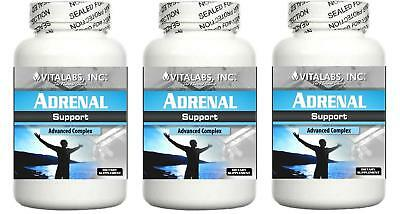 3 Adrenal Support Formula Fatigue Energy Stress Cortisol Exhaustion Tired Sleep