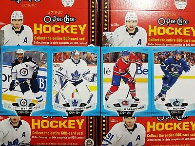2019-20 O-Pee-Chee Blue Border - YOU PICK FROM LIST