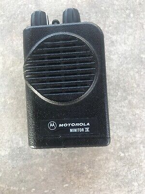 Motorola Minitor IV VHF Fire Pager 151.000-158.000 MHz A03KUS9238