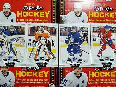 2019-20 O-Pee-Chee (251-500) COMPLETE YOUR SET - YOU PICK FROM LIST