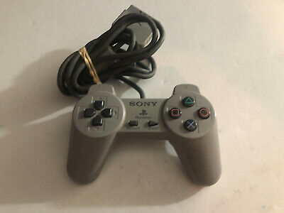 Sony Playstation 1 PS1 Official Gray Controllers SCPH-1080 Fully Tested OEM