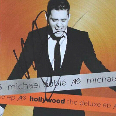 [RARE] AUTOGRAPHED - Michael Buble - 'Hollywood: The Deluxe EP' [CD] + COA