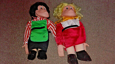 PG Tips Mr Shifter and Polly chimp dolls