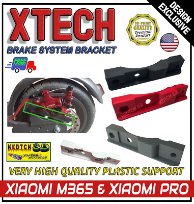 Xiaomi M365 & PRO XTECH Brake System Bracket Support E Scooter Accessories 3D