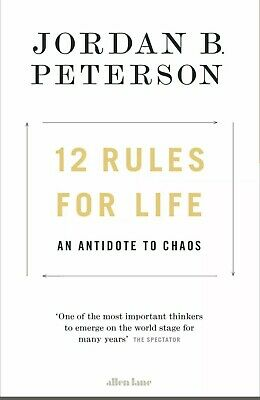 12 Rules for Life - An Antidote to Chaos by Jordan B. Peterson (P-D-F)