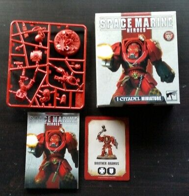 Warhammer 40K Space Marines Blood Angels Terminator Brother Aramus