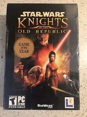 Brand New Sealed Star Wars: Knights of the Old Republic (PC, 2003)