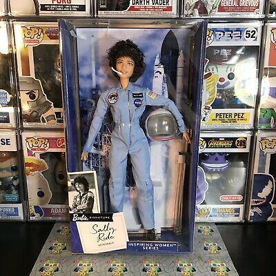 BARBIE 2019 INSPIRING WOMEN SERIES Sally Ride Doll Collectible Figure FXD77 VHTF