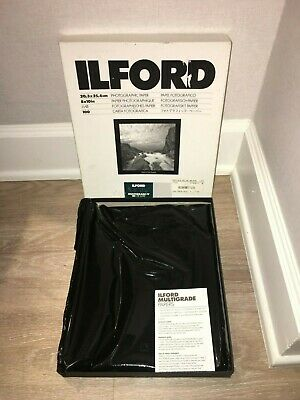 "ILFORD MULTIGRADE IV RC DE LUXE Paper Pearl 8 x 10"" 100 Sheets OPEN BOX"