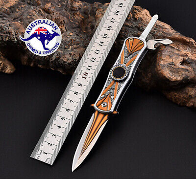 Browning Survival Hiking Folding Knife Hunting Camping Tactical Outdoor Pocket