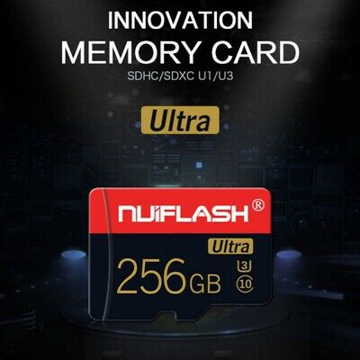 256GB Micro-SD-Card Flash TF Memory Cards U3 C10 For Phone Tablets Cameras Cards