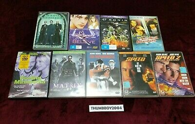 Keanu Reeves DVD BULK MOVIE Collection! Choose film titles from Drop-down