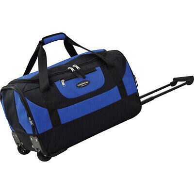 "Travelers Club Luggage Adventure 20"" Multi-Pocket Travel Duffel NEW"
