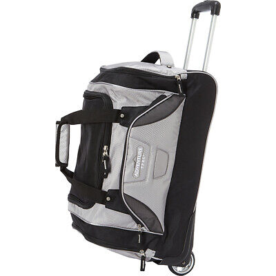 "Travelers Club Luggage Adventure 21"" Rolling Duffel Bag Travel Duffel NEW"