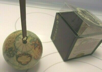 AM TERRESTRIAL GLOBE Age of Exploration Authentic Models Globe Ornament
