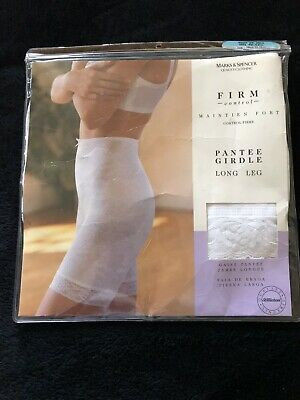 "St Michael Firm Control Long Leg Pantie Girdle 29-30 Waist 40'-42"" Hips"