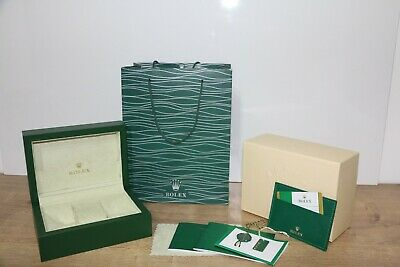 Rolex Watch Box Geneve Suisse. Paperwork Wallet ,Outer Box ,Watch Duster