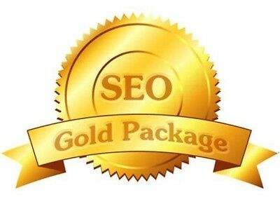 """SEO SERVICE """"SEO GOLD PACKAGE"""" get your website higher in google. search engine"""