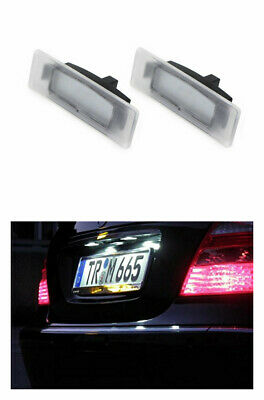 2x TOP LED Kennzeichenbeleuchtung KIA Proceed CD GT (032106)