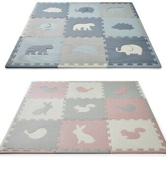 Foam Play Mats With Animals For Babies And Children Interlocking Tile Playmat