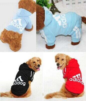 For Puppy Small Large Pet Dog Cat Clothes Coat Hoodie Jacket Shirt Vest Jumpsuit