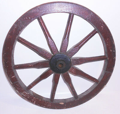 Old Cartwheel Spoked Wheel Ø 41 cm Country House Vintage Shabby! (3