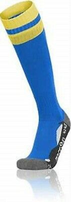 6 PAIRS MACRON RAYON SOCKS FOR FOOTBALL & RUGBY -Adult SIZES
