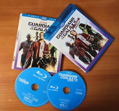 GUARDIANS OF THE GALAXY Vol. 1 & 2 [Blu-ray Box Set] Complete Collection Movie