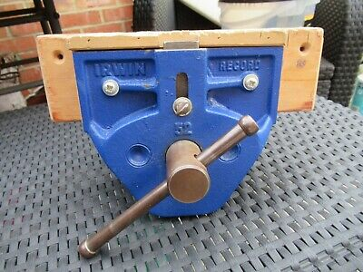 Record Irwin no.52 woodworkers vice