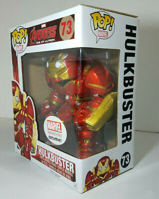 Marvel Collector Corps. Funko Pop! Marvel Avengers Age of Ultron Hulkbuster # 73
