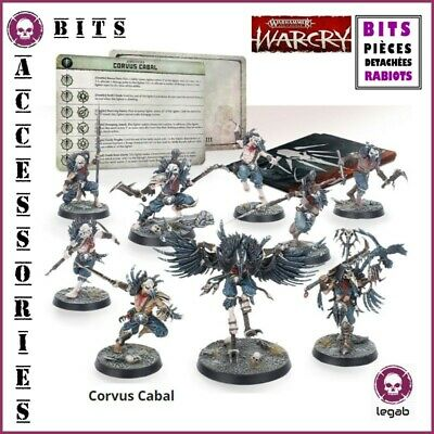 Bits Warcry Corvus Cabal Warhammer Age Of Sigmar