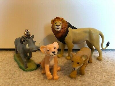 Disney The Lion King 2019 Just Play Pvc Set Simba Nala Timon Pumbaa